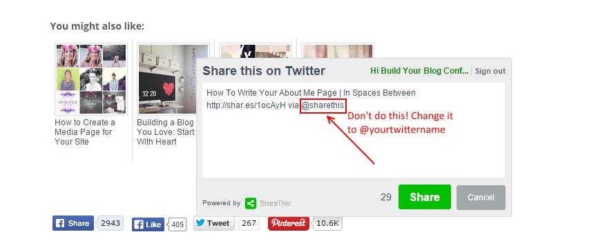 top Twitter mistake