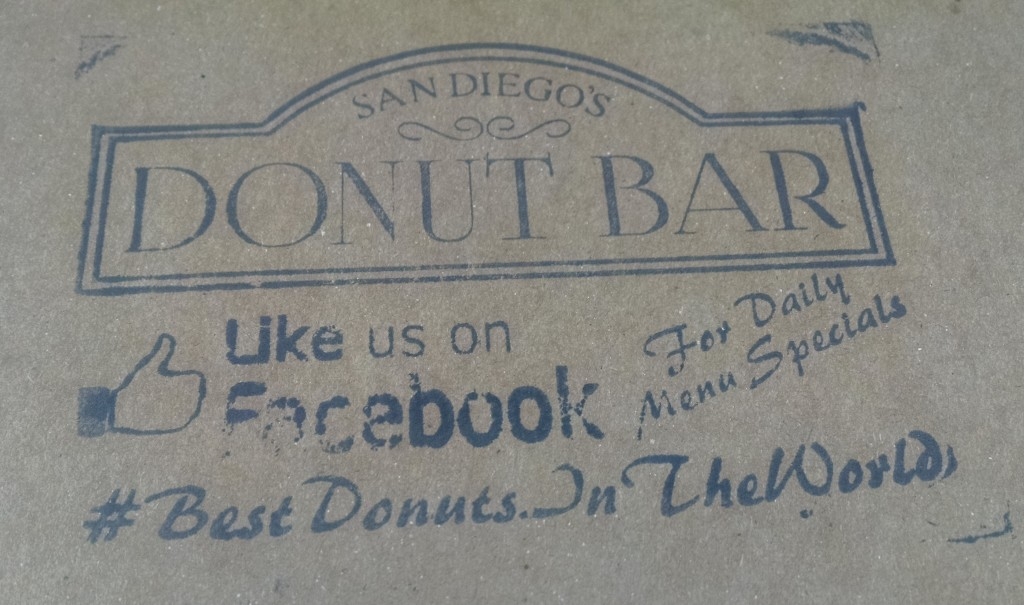 Donut Bar Box