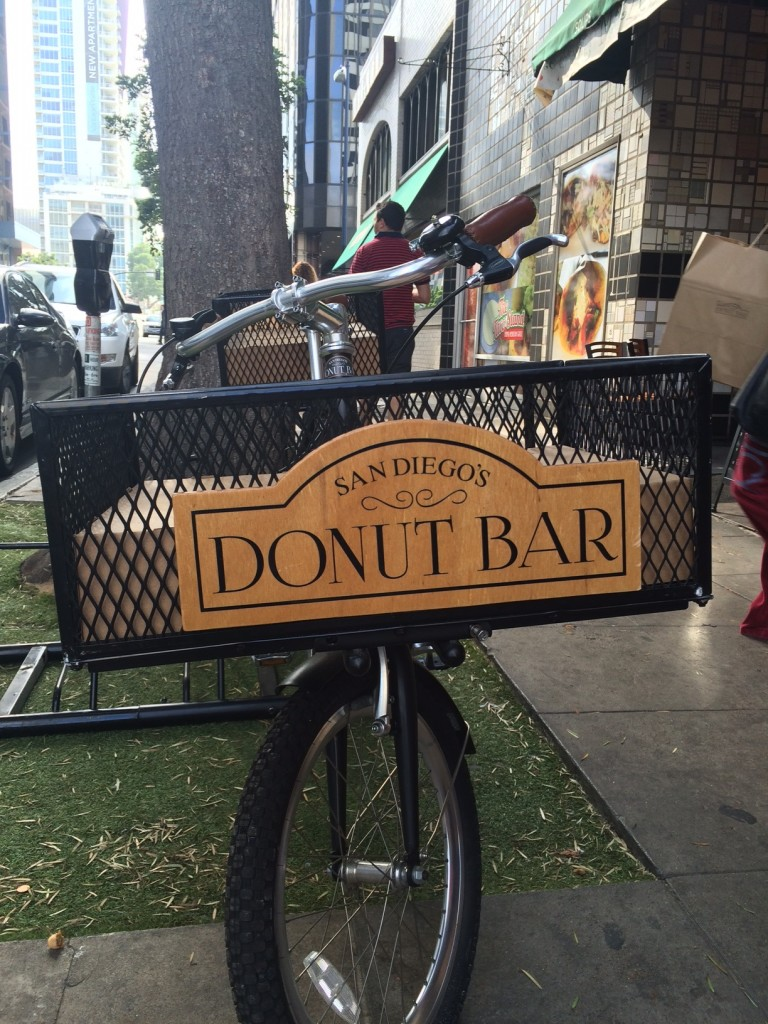 Donut delivery bike