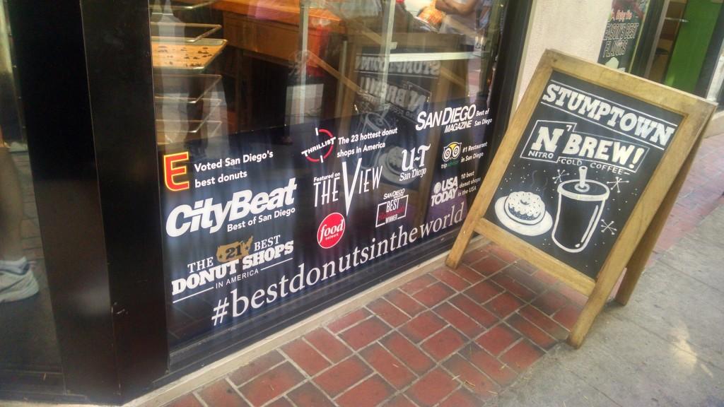 San Diego Donut Shop Storefront