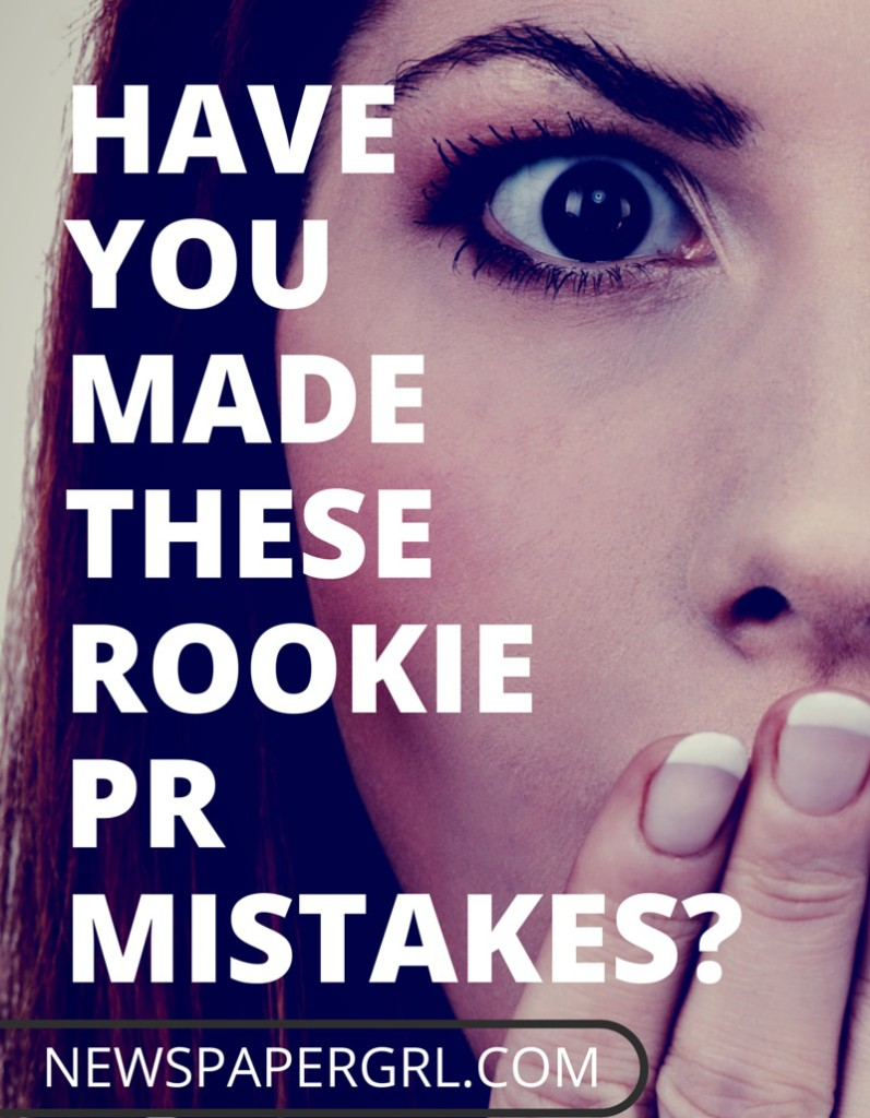 Rookie-pr-mistakes