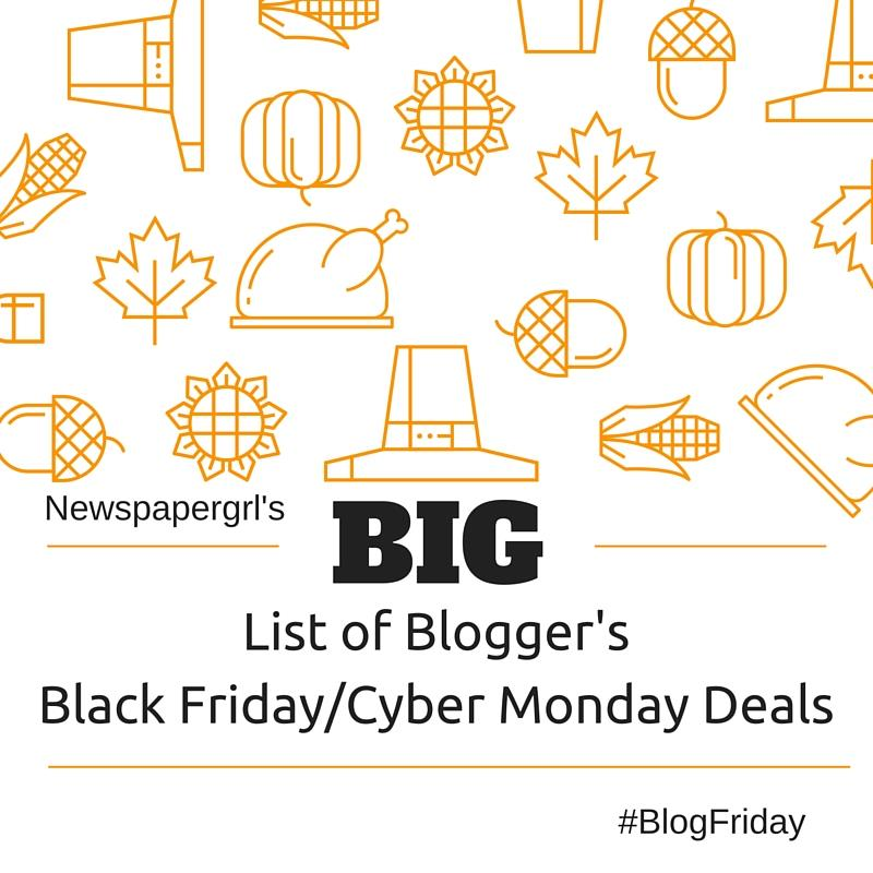Big list of blogger deals for #BlogFriday