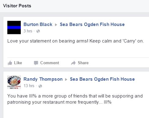 Ogden Sea Bears Restaurant Facebook