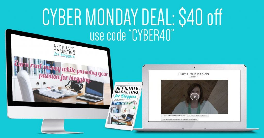 Affiliate Marketing for Bloggers Course sale