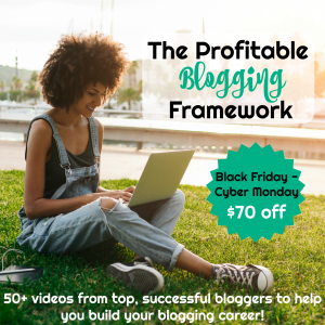 Profitable Blogging Framework Course