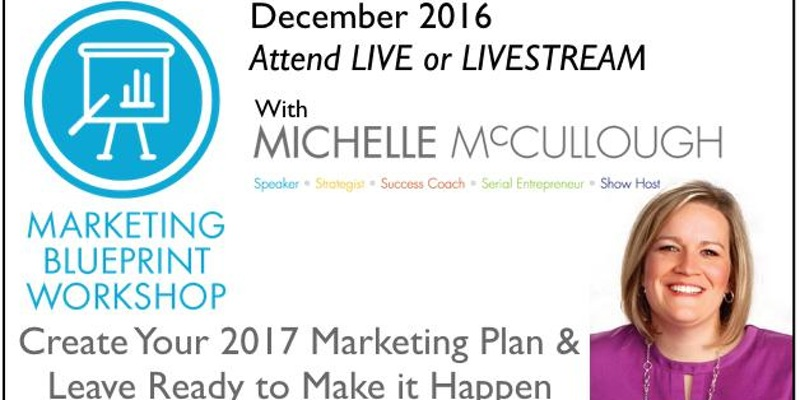 Marketing Workshop with Michelle McCollough