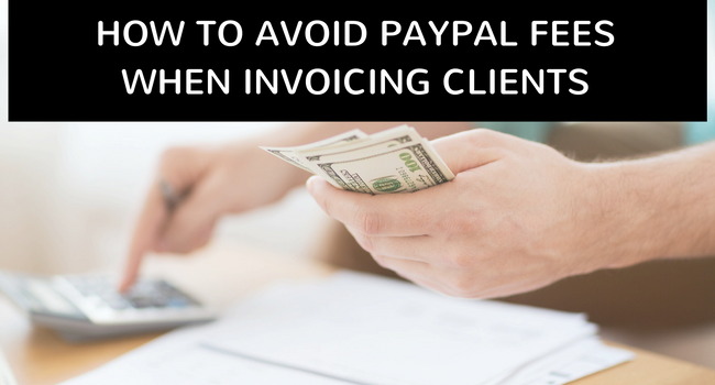 avoid PayPal fees with Invoice Software