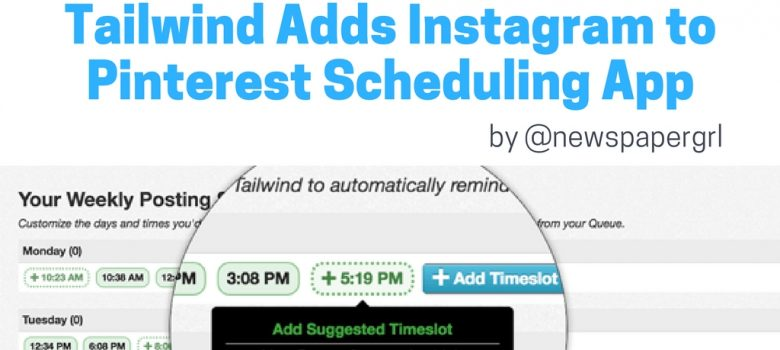 new Instagram scheduling app