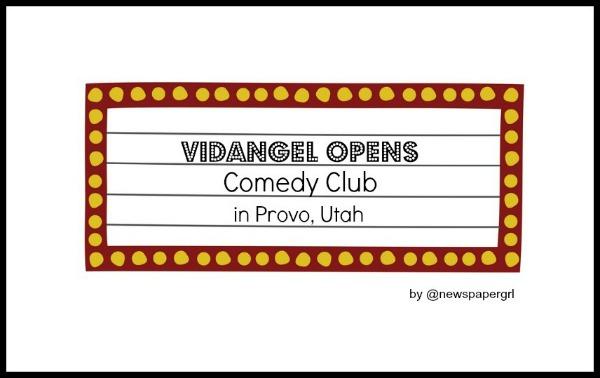 VidAngel Opens Comedy Club in Utah