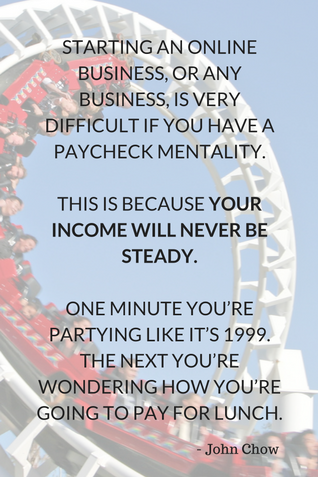paycheck mentality