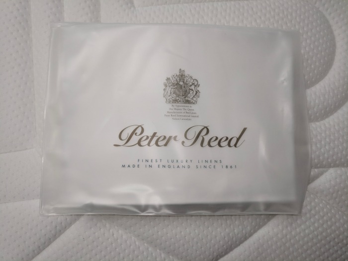 Peter Reed sheets for Mvmnt mattress