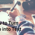 how to transcribe video to text